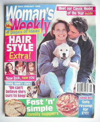 <!--1996-01-30-->Woman's Weekly magazine (30 January 1996)