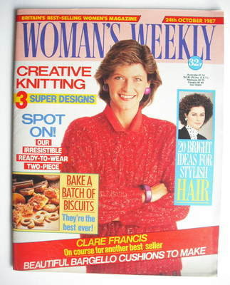 <!--1987-10-24-->Woman's Weekly magazine (24 October 1987 - British Edition