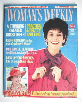 <!--1987-09-05-->Woman's Weekly magazine (5 September 1987 - British Editio