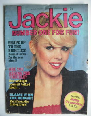 <!--1980-01-05-->Jackie magazine - 5 January 1980 (Issue 835 - Debbie Ash c