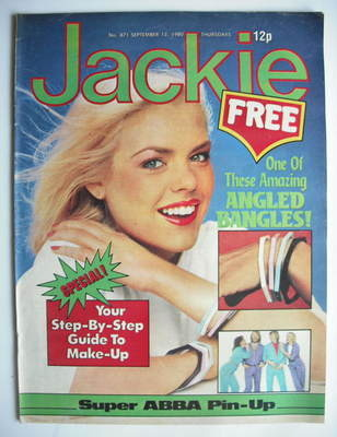 <!--1980-09-13-->Jackie magazine - 13 September 1980 (Issue 871)