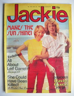 <!--1980-07-26-->Jackie magazine - 26 July 1980 (Issue 864 - Leif Garrett c