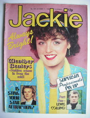 <!--1980-10-11-->Jackie magazine - 11 October 1980 (Issue 875)