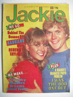 <!--1981-03-14-->Jackie magazine - 14 March 1981 (Issue 897)