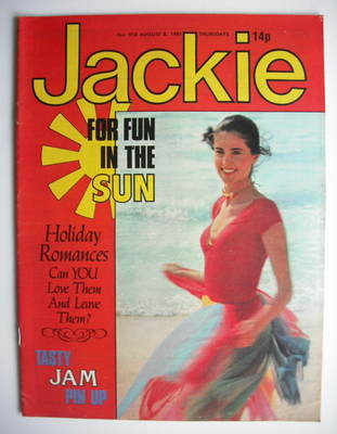 <!--1981-08-08-->Jackie magazine - 8 August 1981 (Issue 918)