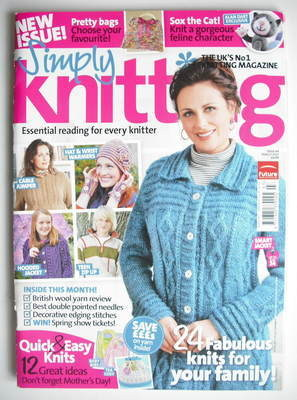 Simply Knitting magazine (Issue 64 - March 2010)