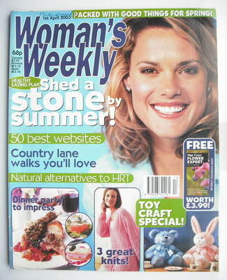 <!--2003-04-01-->Woman's Weekly magazine (1 April 2003)