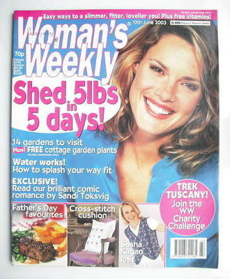 <!--2003-06-10-->Woman's Weekly magazine (10 June 2003)