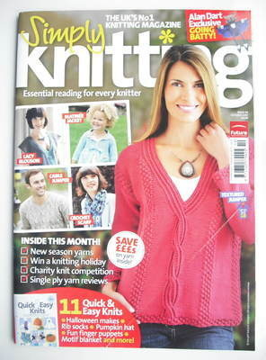 Simply Knitting magazine (Issue 59 - October 2009)