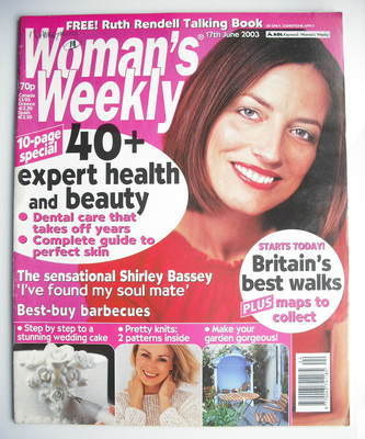 <!--2003-06-17-->Woman's Weekly magazine (17 June 2003)