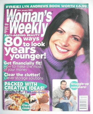 <!--2003-01-28-->Woman's Weekly magazine (28 January 2003)