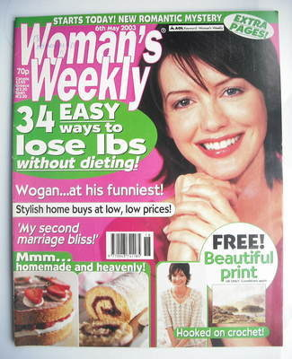 <!--2003-05-06-->Woman's Weekly magazine (6 May 2003)