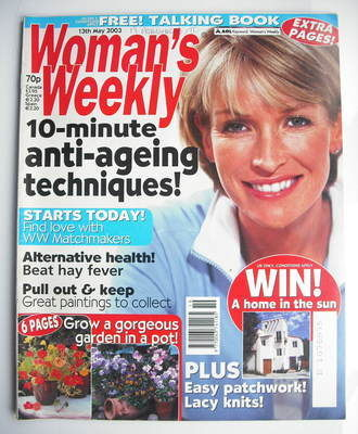 <!--2003-05-13-->Woman's Weekly magazine (13 May 2003)