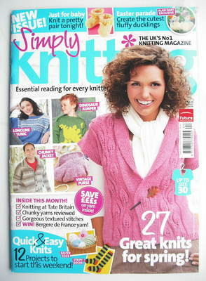 Simply Knitting magazine (Issue 65 - April 2010)