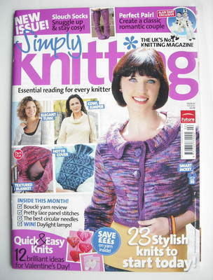 Simply Knitting magazine (Issue 63 - February 2010)