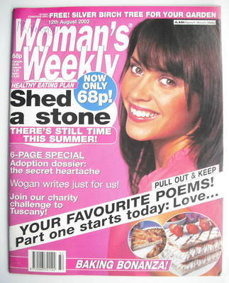 <!--2003-08-12-->Woman's Weekly magazine (12 August 2003)