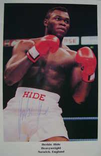 Herbie Hide autograph