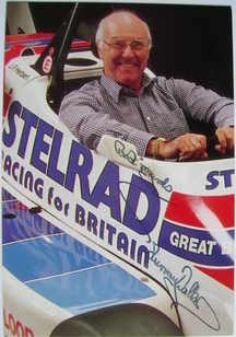 Murray Walker autograph