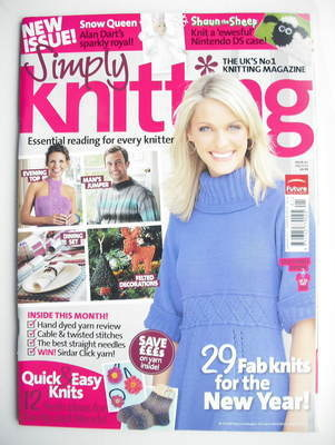Simply Knitting magazine (Issue 62 - January 2010)