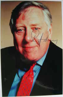 Roy Hattersley autograph