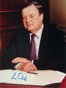 Kenneth Clarke autograph