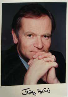 Jeffrey Archer autograph