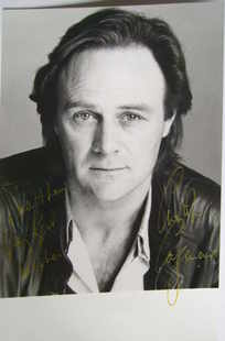 Christopher Cazenove autograph (hand-signed photograph, dedicated)