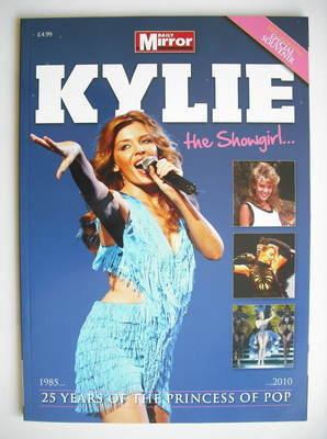 Kylie Minogue magazine - The Showgirl (Summer 2010)