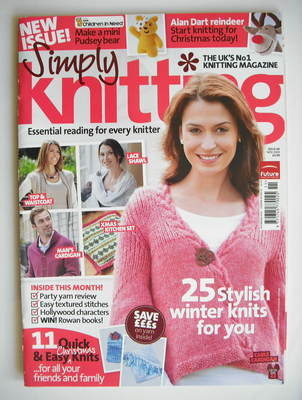 Simply Knitting magazine (Issue 60 - November 2009)