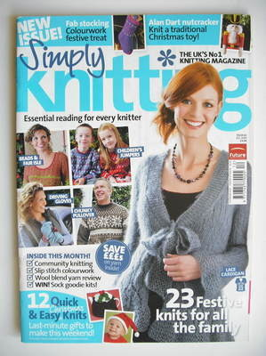 Simply Knitting magazine (Issue 61 - December 2009)
