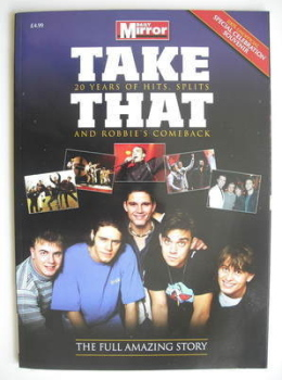 Take That magazine - 20 Years of Hits, Splits and Robbie's Comeback (Summer 2010)