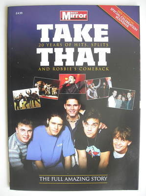 Take That magazine - 20 Years of Hits, Splits and Robbie's Comeback (Summer