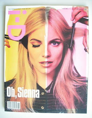 <!--2004-11-->i-D magazine - Sienna Miller cover (November 2004)