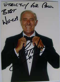 Len Goodman autograph