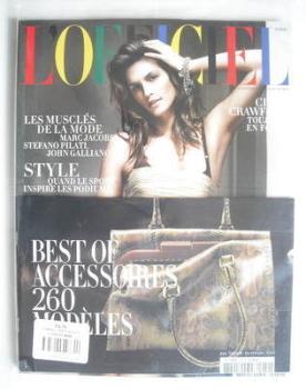 <!--2010-04-->L'Officiel Paris magazine (April 2010 - Cindy Crawford cover)