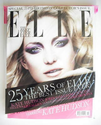 <!--2010-10-->British Elle magazine - October 2010 - Kate Hudson cover