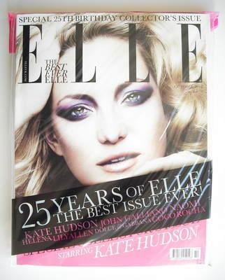 <!--2010-10-->British Elle magazine - October 2010 - Kate Hudson cover