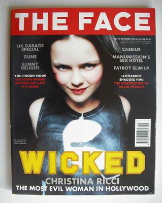 <!--1998-10-->The Face magazine - Christina Ricci cover (October 1998 - Vol