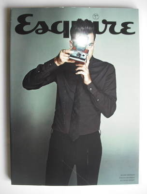 <!--2010-10-->Esquire magazine - Mark Ronson cover (October 2010 - Subscrib