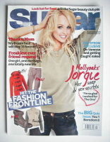 <!--2010-11-->Sugar magazine - Jorgie Porter cover (November 2010)