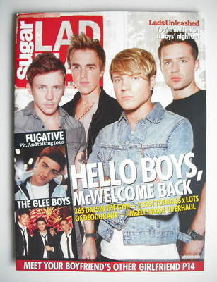 Lad magazine - McFly cover (November 2010)