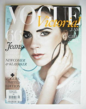 German Vogue magazine - May 2010 - Victoria Beckham cover