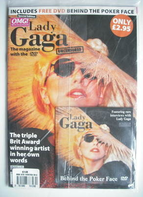 Lady Gaga magazine - Lady Gaga uncensored (plus DVD)