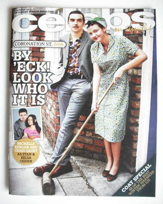 <!--2010-10-24-->Celebs magazine - Michelle Keegan and Craig Gazey cover (2