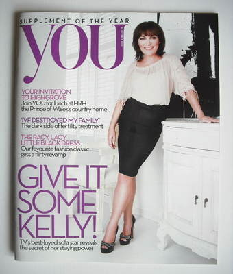 <!--2010-10-24-->You magazine - Lorraine Kelly cover (24 October 2010)