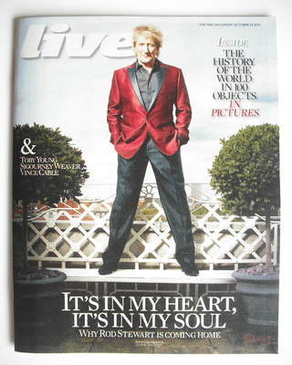<!--2010-10-24-->Live magazine - Rod Stewart cover (24 October 2010)