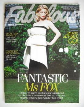 Fabulous magazine - Emilia Fox cover (25 July 2010)