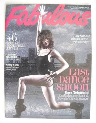<!--2010-10-03-->Fabulous magazine - Kara Tointon cover (3 October 2010)