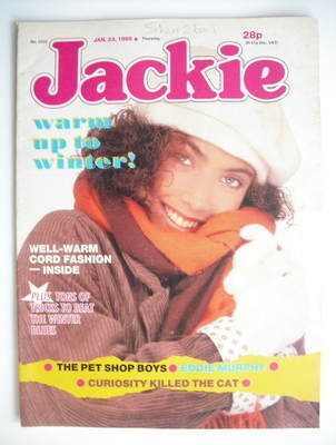 <!--1988-01-23-->Jackie magazine - 23 January 1988 (Issue 1255)