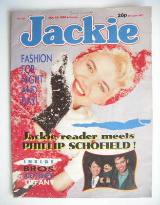 <!--1988-01-16-->Jackie magazine - 16 January 1988 (Issue 1254)